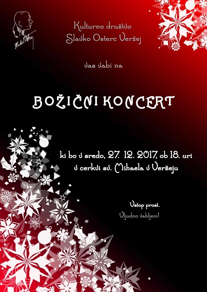 Božični koncert web